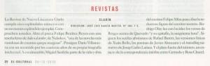 Reseña Clarín 100 (El Cultural)