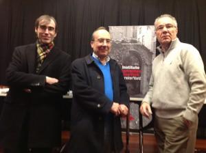 Presentación de Clarín en el Instituto Cervantes de Nueva York
